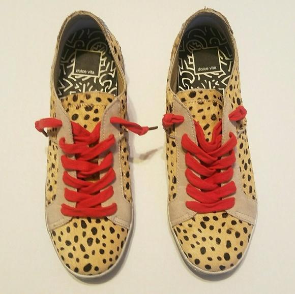 6eacc2a6becb Dolce Vita Shoes - NWOT Dolce Vita Zalen Leopard-Print Sneakers
